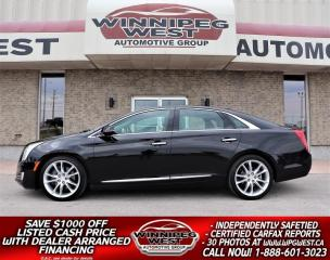 Used 2016 Cadillac XTS PREMIUM COLLECTION AWD, ALL OPTIONS, LOCAL, SHARP! for sale in Headingley, MB