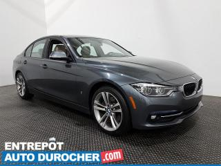 Used 2017 BMW 3 Series 330e - Hybride - Navigation - Toit Ouvrant - Cuir for sale in Laval, QC
