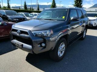Used 2018 Toyota 4Runner SR5, Certified for sale in North Vancouver, BC