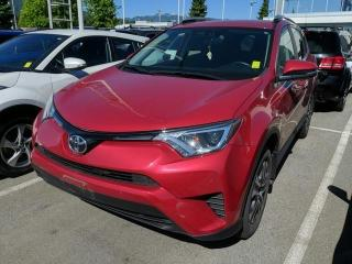 Used 2018 Toyota RAV4 LE FWD, Certified, No Accidents for sale in North Vancouver, BC