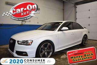 Used 2016 Audi S4 3.0T Technik plus | SUPERCHARGED 333 HORSEPOWER | for sale in Ottawa, ON