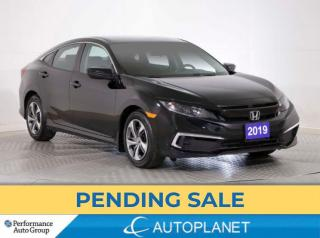Used 2019 Honda Civic LX, Apple CarPlay, Heated Seats, Back Up Cam! for sale in Brampton, ON