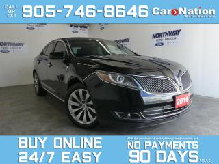 Used 2016 Lincoln MKS 3.7L V6| AWD | LEATHER |TOUCHSCREEN | ONLY 9 KM! for sale in Brantford, ON