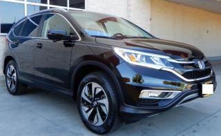 Used 2016 Honda CR-V Touring|Warranty|Rmt Start|Htd Leather|Local|Navi for sale in Brandon, MB
