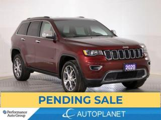 Used 2020 Jeep Grand Cherokee Limited 4x4, Back Up Cam, Memory Seat, Bluetooth! for sale in Clarington, ON