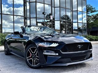 Used 2018 Ford Mustang GT PREMIUM CONVERTIBLE V8 VENTED SEATS DIGITAL CLUSTER NAVI for sale in Brampton, ON