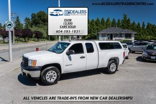 Used 2012 GMC Sierra 1500 Extended Cab, 4.3L V6, Canopy, Air Conditioning, Clean! for sale in Surrey, BC