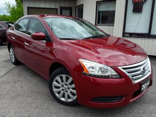 Used 2014 Nissan Sentra S -BLUETOOTH! ACCIDENT FREE! ONLY 34KM! for sale in Kitchener, ON