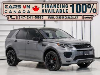 Used 2018 Land Rover Discovery Sport HSE AWD Dynamic, Navigation, 360 Cam, Panoramic, Loaded for sale in Vaughan, ON