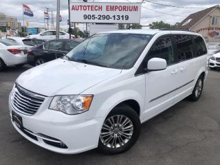 Used 2016 Chrysler Town & Country TOURING Leather/Navigation/Pwr Doors/Full Stow&Go/Camera* for sale in Mississauga, ON