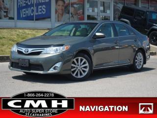 Used 2014 Toyota Camry XLE  NAV CAM ROOF LEATH HTD-SEATS 17-AL for sale in St. Catharines, ON