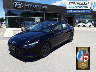 New 2021 Hyundai Elantra Preferred w/Sun & Tech Package IVT  - $159 B/W for sale in Simcoe, ON