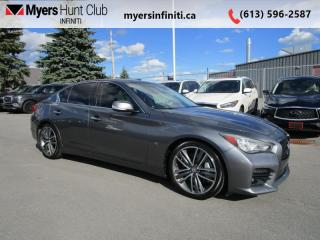 Used 2014 Infiniti Q50 Sport for sale in Ottawa, ON