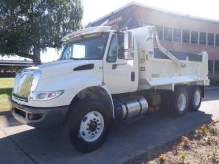 Used 2018 International Durastar 4400 Dump Truck Air brakes Diesel with sander for sale in Burnaby, BC