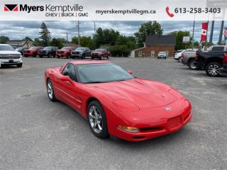 Used 2003 Chevrolet Corvette 2DR CPE  - Low Mileage for sale in Kemptville, ON