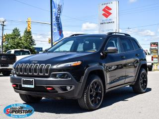 Used 2016 Jeep Cherokee Trailhawk for sale in Barrie, ON