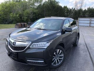 Used 2015 Acura MDX SH-AWD for sale in Cayuga, ON