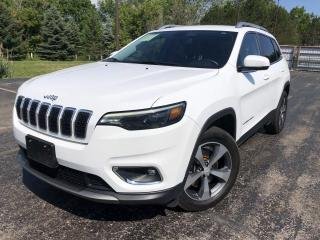 Used 2019 Jeep Cherokee Limited 4WD for sale in Cayuga, ON