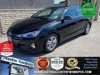 Used 2020 Hyundai Elantra Preferred* Heated Seats/Reverse Camera/BLUETOOTH for sale in Winnipeg, MB
