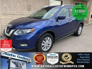 Used 2018 Nissan Rogue SV* AWD/Heated Seats/REMOTE STARTER/LOW kms. for sale in Winnipeg, MB