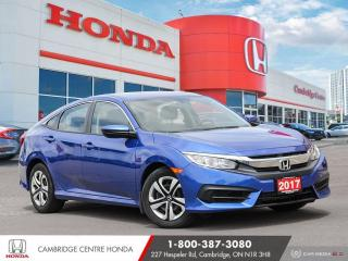 Used 2017 Honda Civic LX REARVIEW CAMERA | APPLE CARPLAY™ & ANDROID AUTO™ | ECON MODE for sale in Cambridge, ON