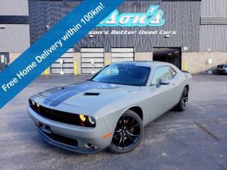 Used 2017 Dodge Challenger SXT Plus - Leather, Heated Seats + Steering Wheel, Reverse Camera, New Tires, Alloys and More! for sale in Guelph, ON