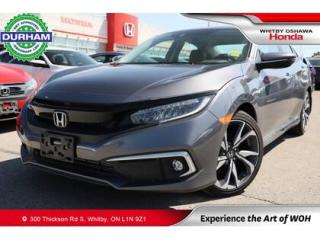 Used 2020 Honda Civic Touring   CVT   Navigation for sale in Whitby, ON