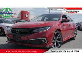 Used 2019 Honda Civic Touring   CVT   Navigation for sale in Whitby, ON