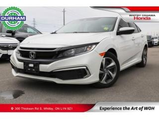 Used 2019 Honda Civic LX   CVT   Android Auto/Apple CarPlay for sale in Whitby, ON
