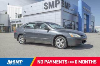 Used 2005 Honda Accord Sdn EX-L- Leather, Sunroof ** As Traded / Mechanics Special ** for sale in Saskatoon, SK