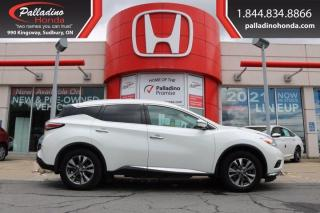 Used 2017 Nissan Murano - NEW FRONT PADS AND ROTORS - for sale in Sudbury, ON