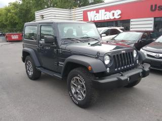 Used 2017 Jeep Wrangler Sport 4WD for sale in Ottawa, ON