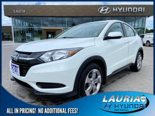 Used 2018 Honda HR-V LX AWD - 1 OWNER / LOW KMS for sale in Port Hope, ON
