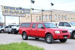 Used 2004 Nissan Frontier XE 4X4 Long Bed for sale in Brampton, ON