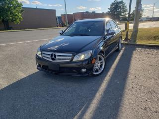 Used 2009 Mercedes-Benz C-Class 3.5L for sale in Brampton, ON