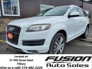 Used 2013 Audi Q7 3.0L Premium-7 PASS-LEATHER-SUNROOF-NAVIGATION for sale in Tilbury, ON