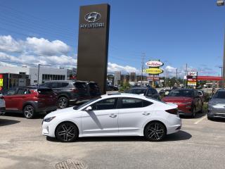Used 2019 Hyundai Elantra Sport for sale in North Bay, ON
