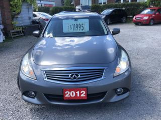 Used 2012 Infiniti G37 G37 X for sale in Hamilton, ON
