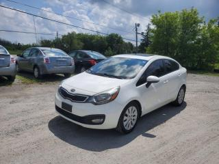 Used 2013 Kia Rio EX POWER SUNROOF BACK UP CAMERA CERTIFIED for sale in Stouffville, ON