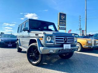 Used 2015 Mercedes-Benz G-Class No Accidents | 4MATIC | Amazing G 550 | Certified for sale in Brampton, ON