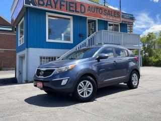 Used 2012 Kia Sportage LX for sale in Barrie, ON