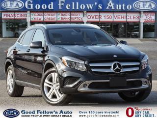 Used 2016 Mercedes-Benz GLA 250 4MATIC, BACKUP CAMERA, HD RADIO, NAVI, MEMORY SEAT for sale in Toronto, ON
