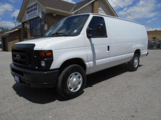 Used 2012 Ford Econoline E250 Extended Cargo Divider Certified ONLY 88,000K for sale in Etobicoke, ON