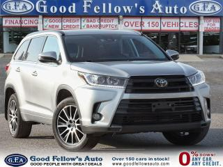 Used 2018 Toyota Highlander SE MODEL, AWD, LEATHER SEATS, SUNROOF, LDW, 7PASS for sale in Toronto, ON