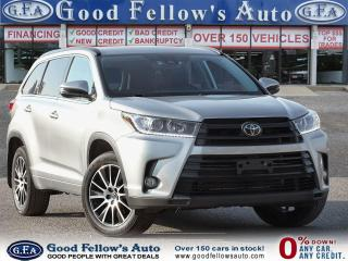 Used 2018 Toyota Highlander SE MODEL, AWD, LEATHER SEATS, SUNROOF, 7PASS, LDW for sale in Toronto, ON