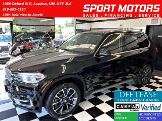 Used 2017 BMW X5 xDrive35i+New Tires+Camera+PDC+GPS+CLEAN CARFAX for sale in London, ON