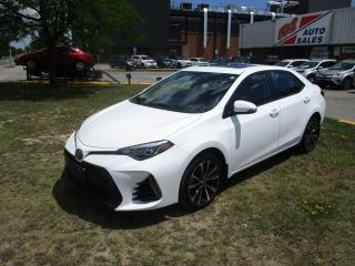 Used 2017 Toyota Corolla SE ~ HTD STEERING ~ SUNROOF ~ LDW ~ LOW KM for sale in Toronto, ON