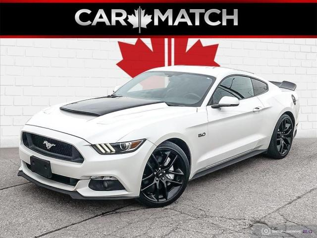 2017 Ford Mustang GT PREMIUM / LEATHER / NAV / NO ACCIDENTS
