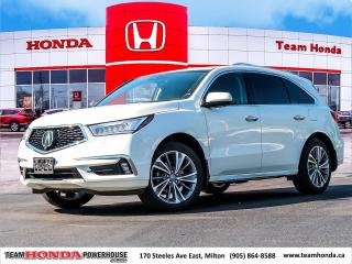 Used 2018 Acura MDX Elite Package Elite for sale in Milton, ON