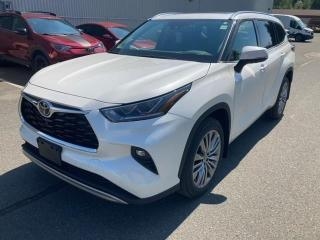 New 2021 Toyota Highlander Limited LIMITED + PLATINUM PACKAGE! for sale in Cobourg, ON